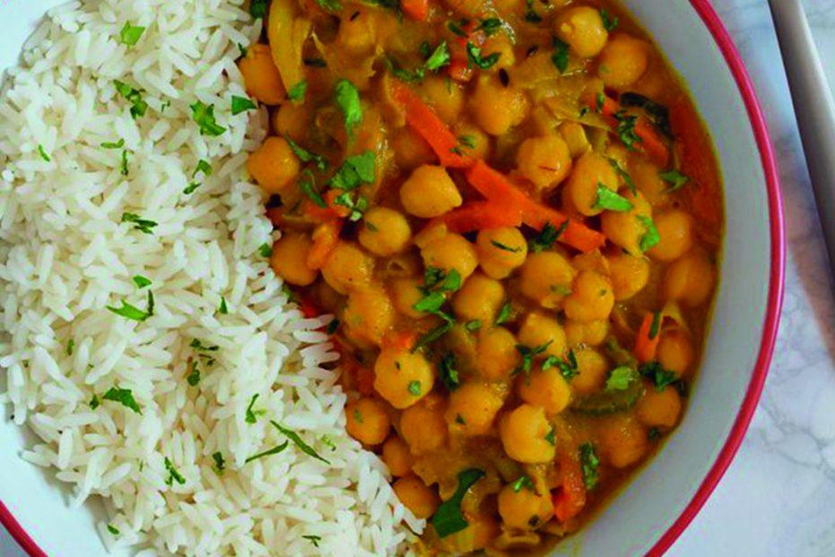 Curry Garbanzos