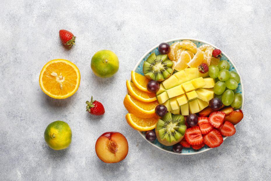 postre con mango