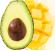 aguacates y mangos