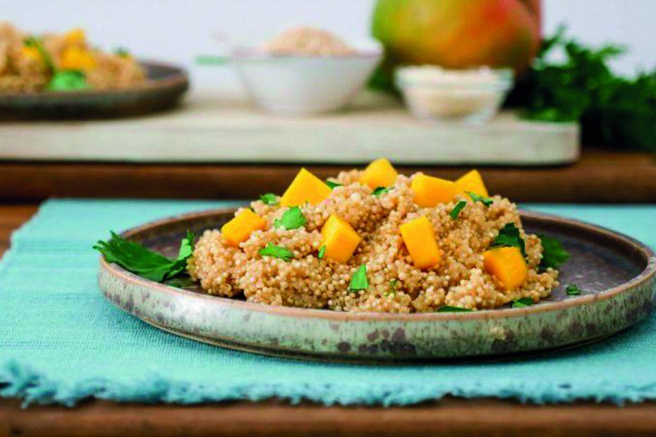 Rissoto Quinoa con mango