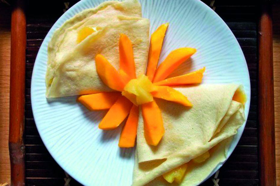Crepes mango