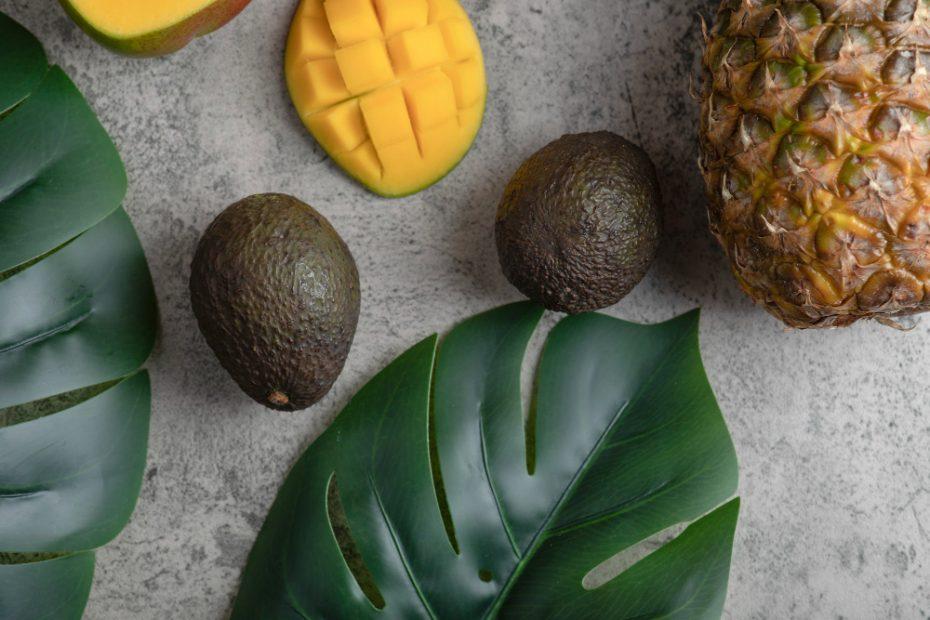 mango y aguacate
